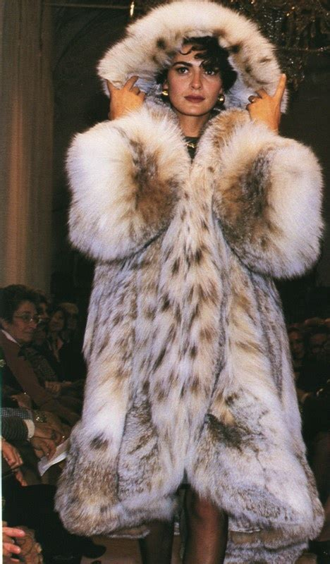 Totally Awesome Lynx Fur Coat  Fall  Winter Coats