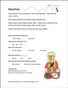free reading comprehensions 1st grade reading comprehension new calendar template site