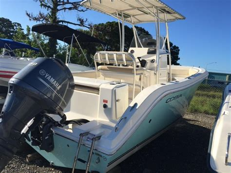 2014 used cobia boats 201 center console center console fishing boat for sale 36 000 port
