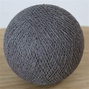 Cotton Balls Lichterkette : cotton ball lights kugel dunkel grau f r b lle lichterkette baumwolle ebay ~ Eleganceandgraceweddings.com Haus und Dekorationen