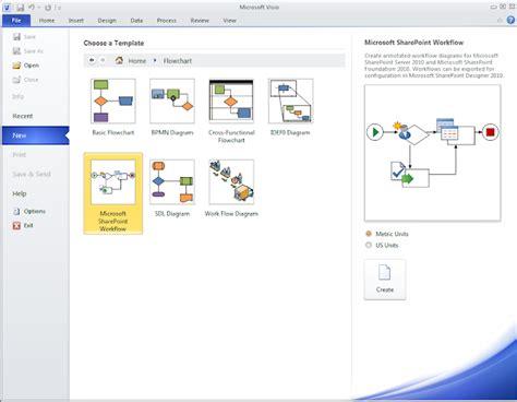 sharepoint  dummies   create workflow  visio