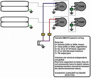 Yamaha Rbx375 Pickup  Electronics Question