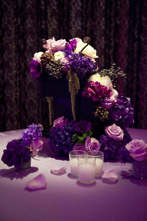 diy table decorations for wedding reception diy purple wedding decorations siudy net