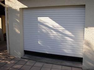 porte de garage roulante a milhaud dans le 30 menuisier With porte roulante garage