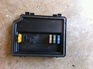 bmw engine bay fuse box cover  spare fuses oem
