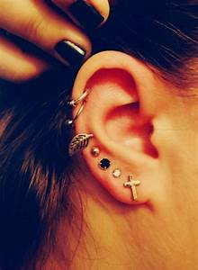 cute cartilage earring | Tumblr