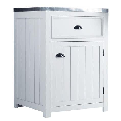meuble bas de cuisine 120 cm meuble bas de cuisine ouverture gauche en pin blanc l