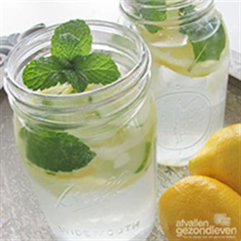 water met smaakje afvallen