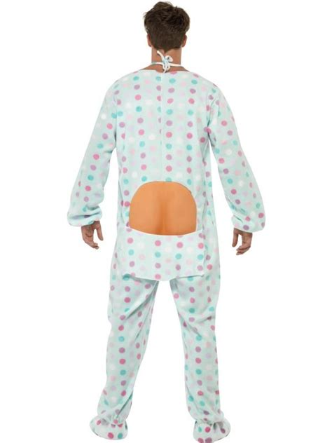 MENS BIG BABY ROMPER SUIT FANCY DRESS COSTUME BABYGROW BABIES OUTFIT STAG   eBay