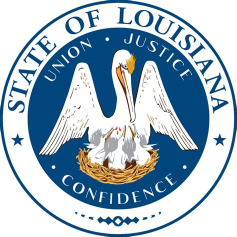 Images Of Louisiana File Seal Of Louisiana Svg