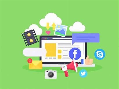 Agency Marketing Social Examples Company Awesome Animation