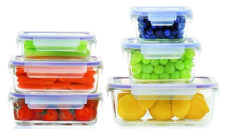 Top 10 Best Glass Food Storage Containers 2018 Heavycom