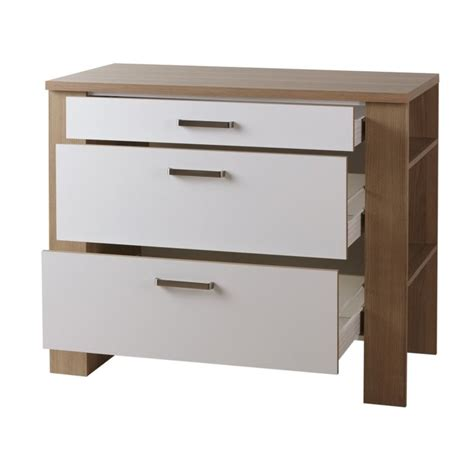 meubles de cuisine bas meuble de cuisine bas 3 tiroirs adelia 2 achat vente