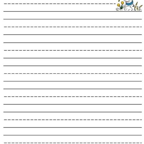 free printable lined writing paper for kindergarten free 612 | free printable lined writing paper for kindergarten free printable for lined paper kindergarten 2018 600x600