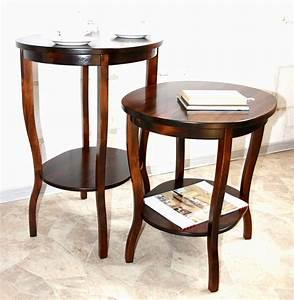 Beistelltisch Weiß Rund Holz : beistelltisch rund holz beistelltisch cereza rund beistelltisch holz rund mit kirschbaumfarben ~ Bigdaddyawards.com Haus und Dekorationen