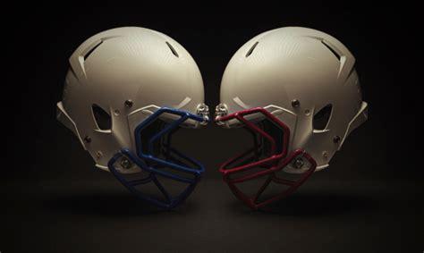 football helmet clash stock photo  image