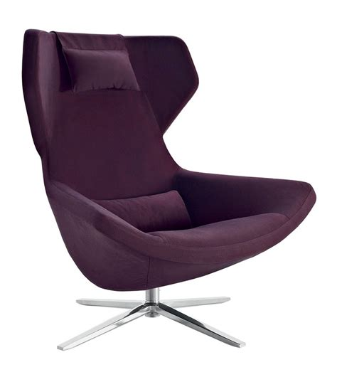 chaise bb metropolitan 39 14 armchair with high backrest b b italia