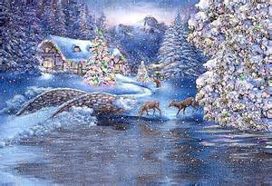Beautiful Holiday Scenes Christmas