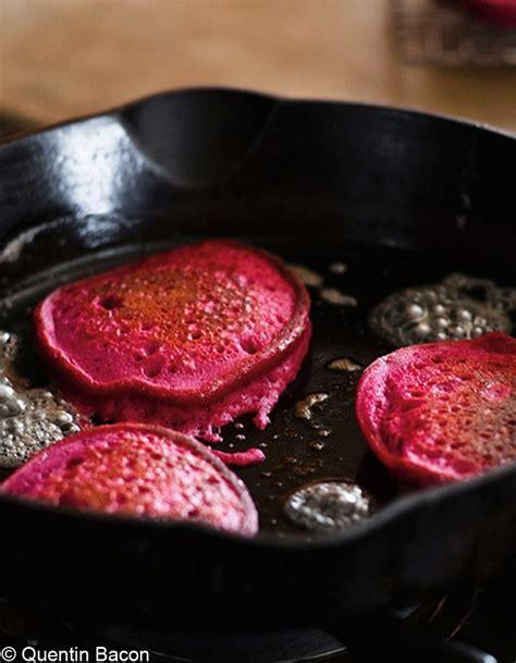 comment cuisiner les betteraves rouges pancakes de quinoa à la betterave pour 4 personnes