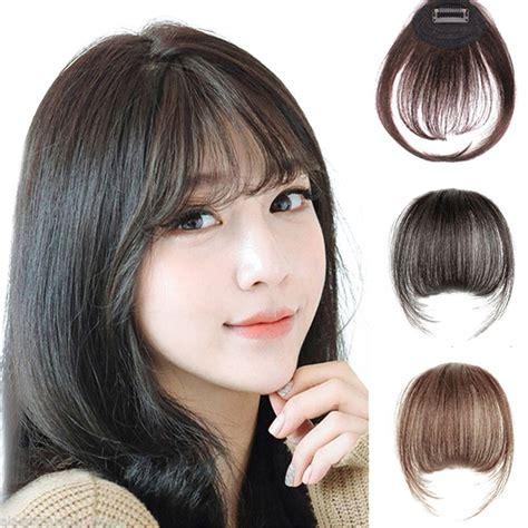Remeehi Mini Air Flat Bangsfringe Hair