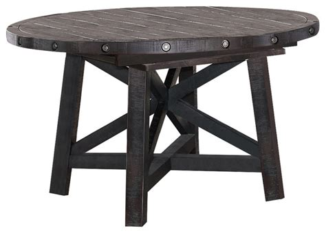 yosemite solid wood  extension table farmhouse