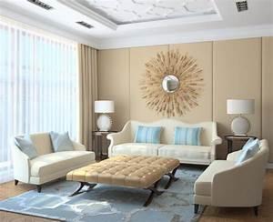Farben Mischen Beige : 20 ideen f r moderne wohnzimmer einrichtung in neutralen farben ~ Yasmunasinghe.com Haus und Dekorationen