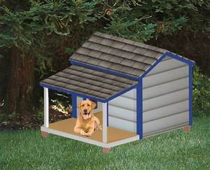 free home plans plans dog house With how to build a dog house with a porch