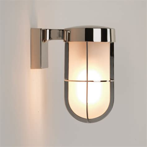 astro cabin outdoor wall light antique brass 7559 from