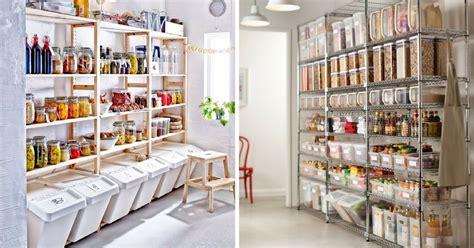 meuble de cuisine rangement 5 idées de garde manger pratiques tendance à copier