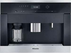Miele einbau kaffeevollautomat cva 6405 mit for Einbau kaffeevollautomat mit festwasseranschluss