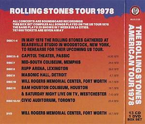Rolling Stones / American Tour 1978 / 13CD+1DVD Box Set ...