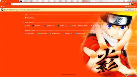 Google Chrome Naruto Theme