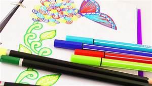 Ideen Zum Zeichnen : malen zeichnen im fr hling kathi malt im filofax wundersch ne blumen muster ~ Yasmunasinghe.com Haus und Dekorationen