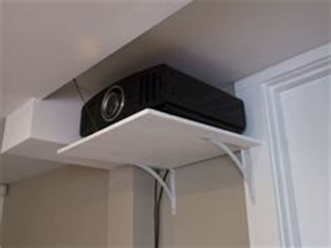 Diy Projector Mount Drop Ceiling by 1000 Ideas About Projector Ceiling Mount On