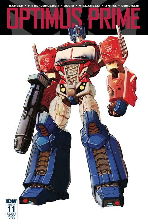 Prime Images Optimus Prime 11 Idw Publishing