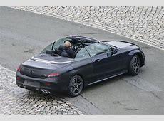 Mercedes Cklasse Cabriolet in vol ornaat! Spyshots