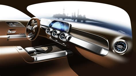 mercedes benz revela interior  novo suv glb motor show