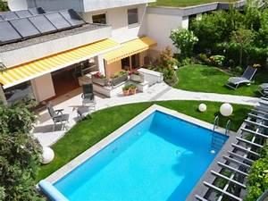 Garten Von Oben : 96 verbl ffende fotos vom garten pool ~ Orissabook.com Haus und Dekorationen
