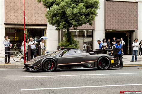 Pagani Huayra And Zonda Revolucion Arrived In Japan Gtspirit
