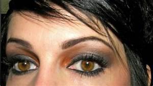 Maquillage Pour Yeux Marron : maquillage parfait pour les yeux marrons maquillage ~ Carolinahurricanesstore.com Idées de Décoration
