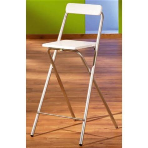 fold up bar stools interlink sully folding bar stool in white furniture123 3503