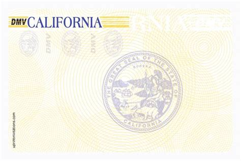 blank california driver s license template driver s license birthday invitations all states