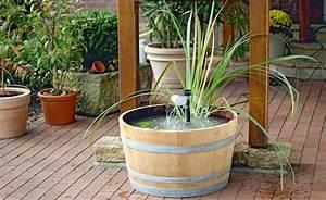 Teich Für Balkon : gestalten sie einen mini teich mit wasserspiel mini teich wasserspiele und teiche ~ Sanjose-hotels-ca.com Haus und Dekorationen