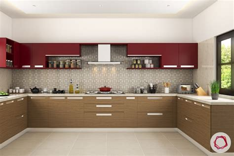 kitchen countertops backsplash modular kitchen trends contrasting cabinets interior