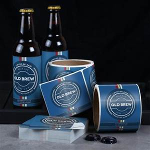 Beer labels label printing uprinting for Beer label printing