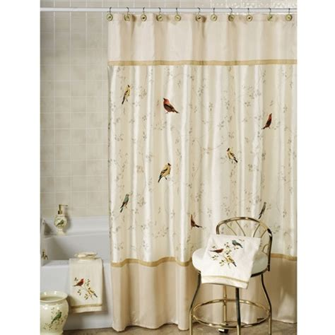 Material For Curtains by Different Materials For Bathroom Shower Curtains