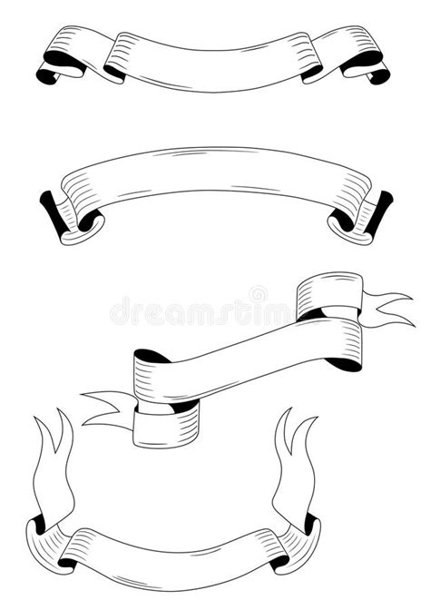 template medieval banner free medieval ribbons and banners stock vector image 46019213