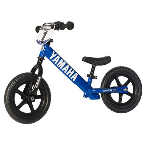 motocross balance bike aomc mx yamaha strider st 4 no pedal balance bike