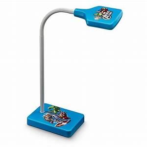 Lampe De Bureau Enfant : lampe de bureau avengers led h35 cm lampe poser enfant ~ Nature-et-papiers.com Idées de Décoration
