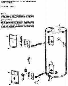 Kenmore Kenmore Power Miser 6   Electric Water Heaters
